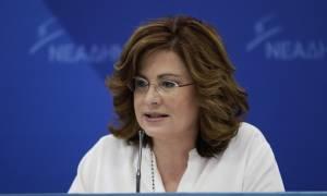 Σπυράκη για Σκόπια: Η κυβέρνηση προσβάλλει τους Έλληνες και αγνοεί το λαϊκό αίσθημα