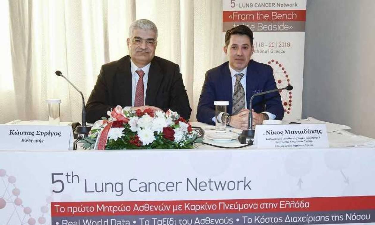 Τι δείχνει το πρώτο Μητρώο Ασθενών για τον καρκίνο του πνεύμονα στην Ελλάδα
