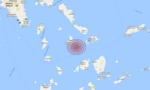 Σεισμός στις Κυκλάδες (pic)