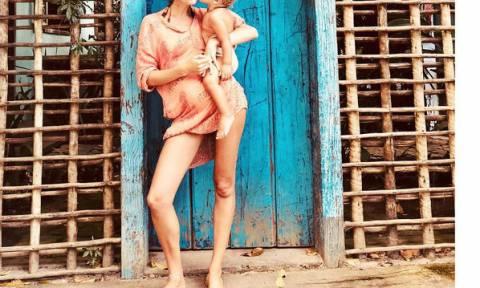 Για δεύτερη φορά θα αποκτήσει αγόρι: Το διάσημο μοντέλο ανακοίνωσε τα νέα στο Instagram (vid)
