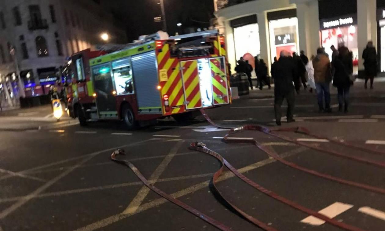 Συναγερμός στο Λονδίνο: Επικίνδυνη διαρροή αερίου στο Charing Cross – Εκκενώθηκε η περιοχή (Pic+Vid)