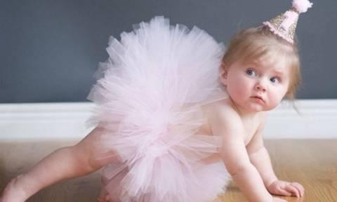 DIY: Φούστα τουτού για τα πρώτα γενέθλια της μικρής σας με μόλις 4 ευρώ υλικά! (pics & vid)