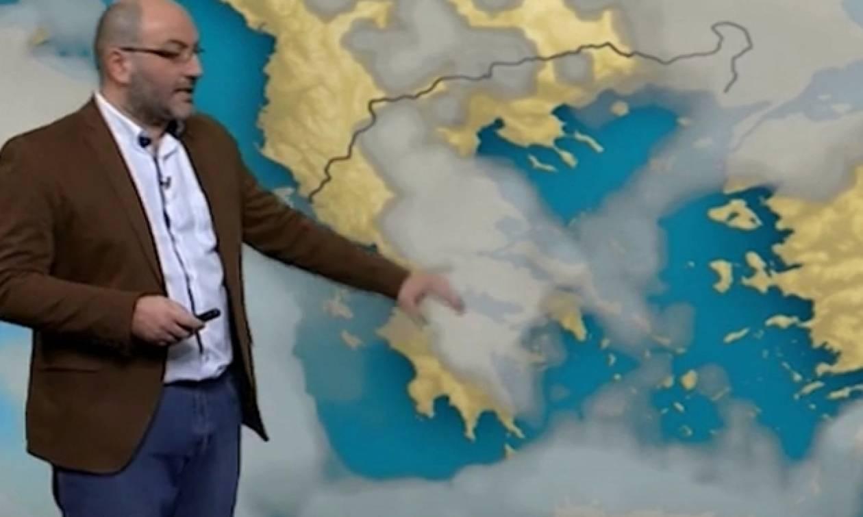 Πού θα χιονίσει το επόμενο διήμερο; Η πρόγνωση του Σάκη Αρναούτογλου (video)