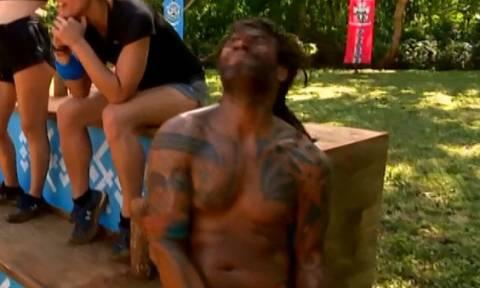Survivor 2: Ο τραυματισμός του Νίκου Θωμά και οι κραυγές του!