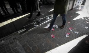 Εισβολή «Ρουβίκωνα» στη ΔΟΥ Παγκρατίου (pics)