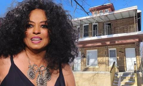 Αγόρασε το σπίτι της Diana Ross για μόλις 1.800 δολάρια τώρα το πουλάει 132.500 δολάρια