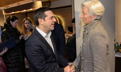В Давосе на полях Международного экономического форума прошли переговоры К. Лагард и А. Ципраса