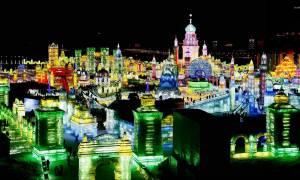 Χάρμπιν: Η πόλη από χιόνι και πάγο που χτίζεται τον χειμώνα και γκρεμίζεται την άνοιξη (Pics)