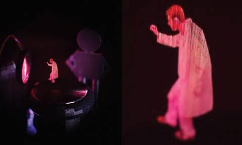 Επαναστατική μέθοδος δημιουργεί κινούμενα έγχρωμα τρισδιάστατα «φαντάσματα» στον αέρα (Vid)