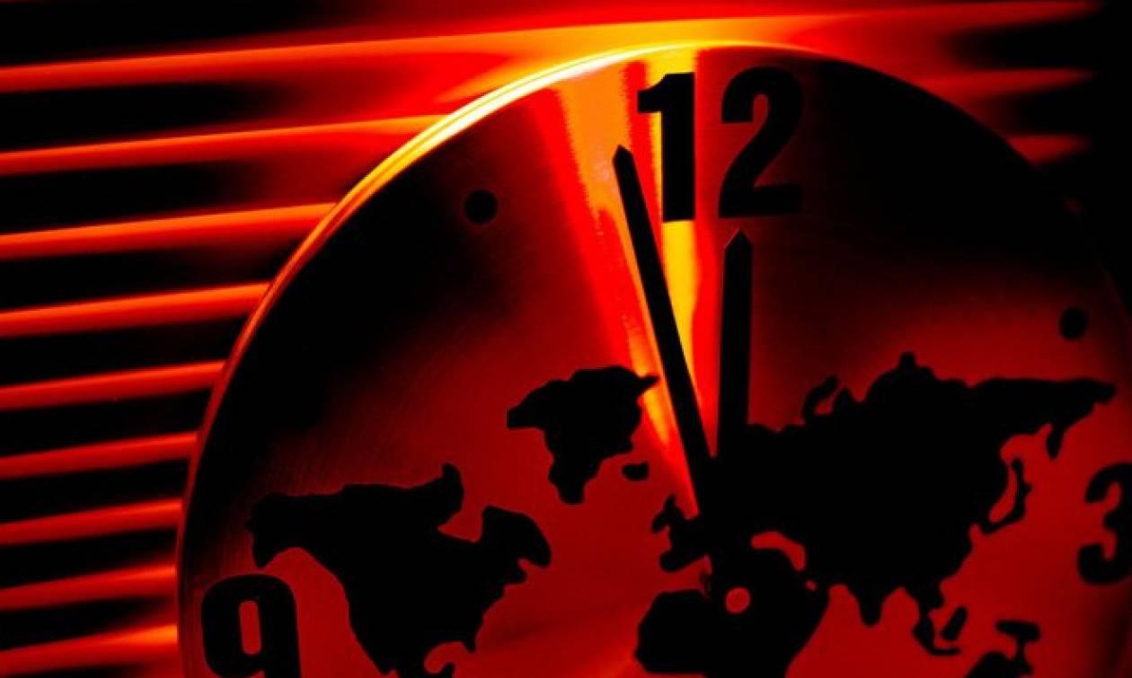 Τι έδειξε το «ρολόι της Αποκάλυψης» για την καταστροφή του κόσμου! (vid)