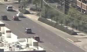 ΗΠΑ: Κινηματογραφική καταδίωξη αυτοκινήτου στην Αριζόνα (vid)