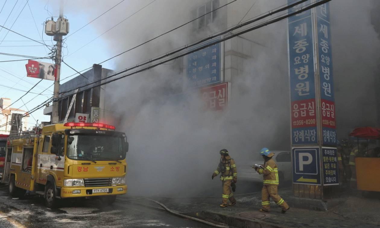 Τραγωδία στη Νότια Κορέα: Βίντεο ΣΟΚ - 41 νεκροί από πυρκαγιά σε νοσοκομείο (Pics+Vids)