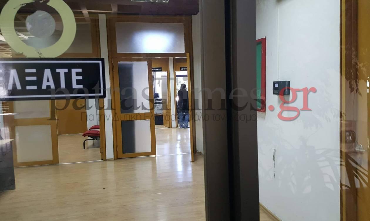Πάτρα: Φοιτητές κλείδωσαν στο γραφείο του το διευθυντή της φοιτητικής εστίας