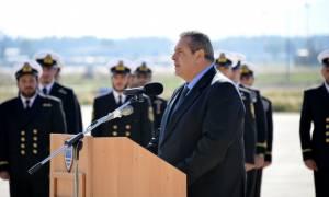 Καμμένος: Όποιος τολμήσει να ανέβει σε ελληνικό έδαφος δεν θα υπάρχει την επόμενη στιγμή