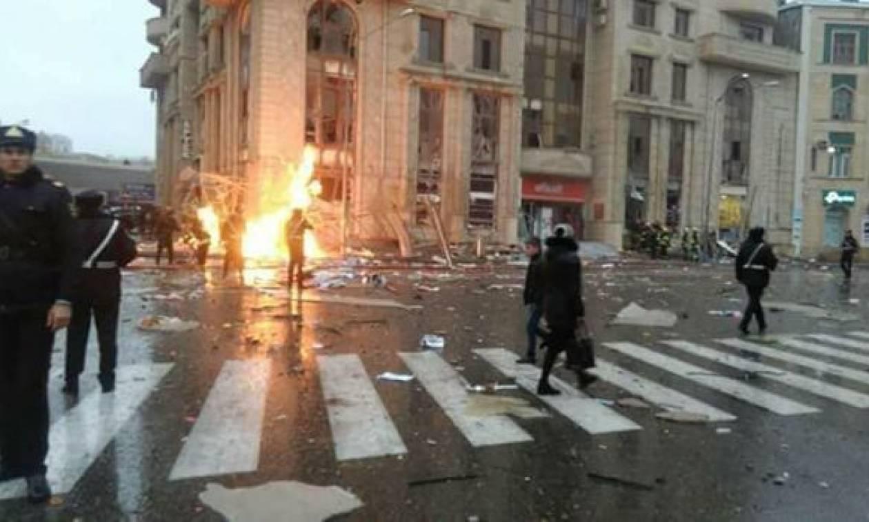 Ισχυρή έκρηξη στο Αζερμπαϊτζάν - Τουλάχιστον δύο νεκροί