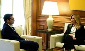 Σκοπιανό - Φώφη Γεννηματά: Να συγκληθεί το Συμβούλιο των πολιτικών αρχηγών