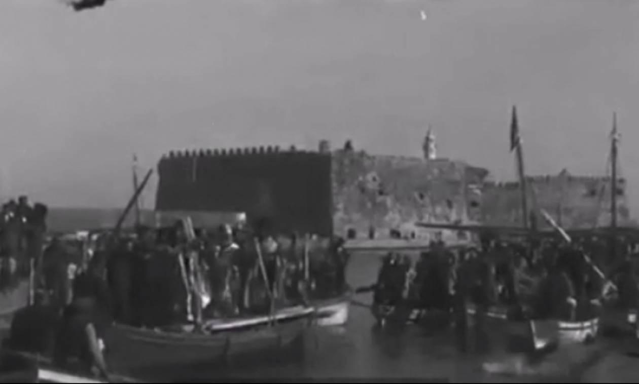 Σπάνιο βίντεο ντοκουμέντο από την Κρήτη του 1910