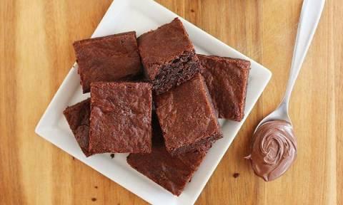 Brownies με Nutella. Το απόλυτο γλυκό για του Αγίου Βαλεντίνου