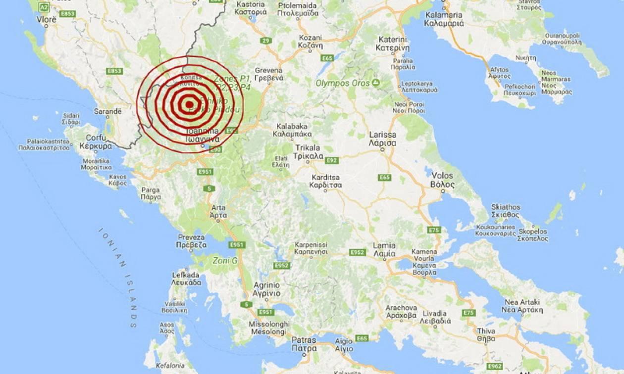 Σεισμός κοντά στα Ιωάννινα (pics)