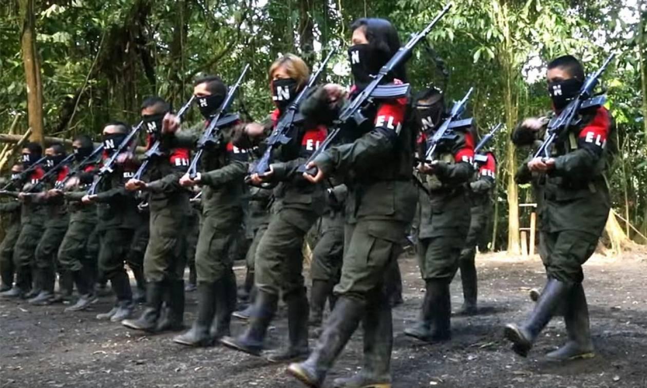 Κολομβία: Αναστέλλεται η ειρηνευτική διαδικασία με τον ELN