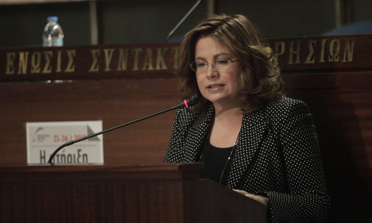 Σπυράκη: Δεν υπάρχει λύση όταν το Σύνταγμα των Σκοπίων έχει αλυτρωτικές αναφορές