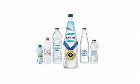 Χρυσό Διεθνές Βραβείο ποιότητας για το Φυσικό Μεταλλικό Νερό ΑΥΡΑ από τον Ευρωπαϊκό Οργανισμό DLG