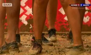Survivor 2: Χάθηκε το παπούτσι της Σπυροπούλου… stop