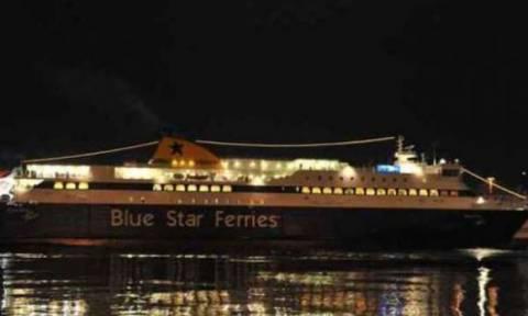 В Греции 60-летний пассажир компании «Blue Star» покончил жизнь самоубийством, выпрыгнув за борт