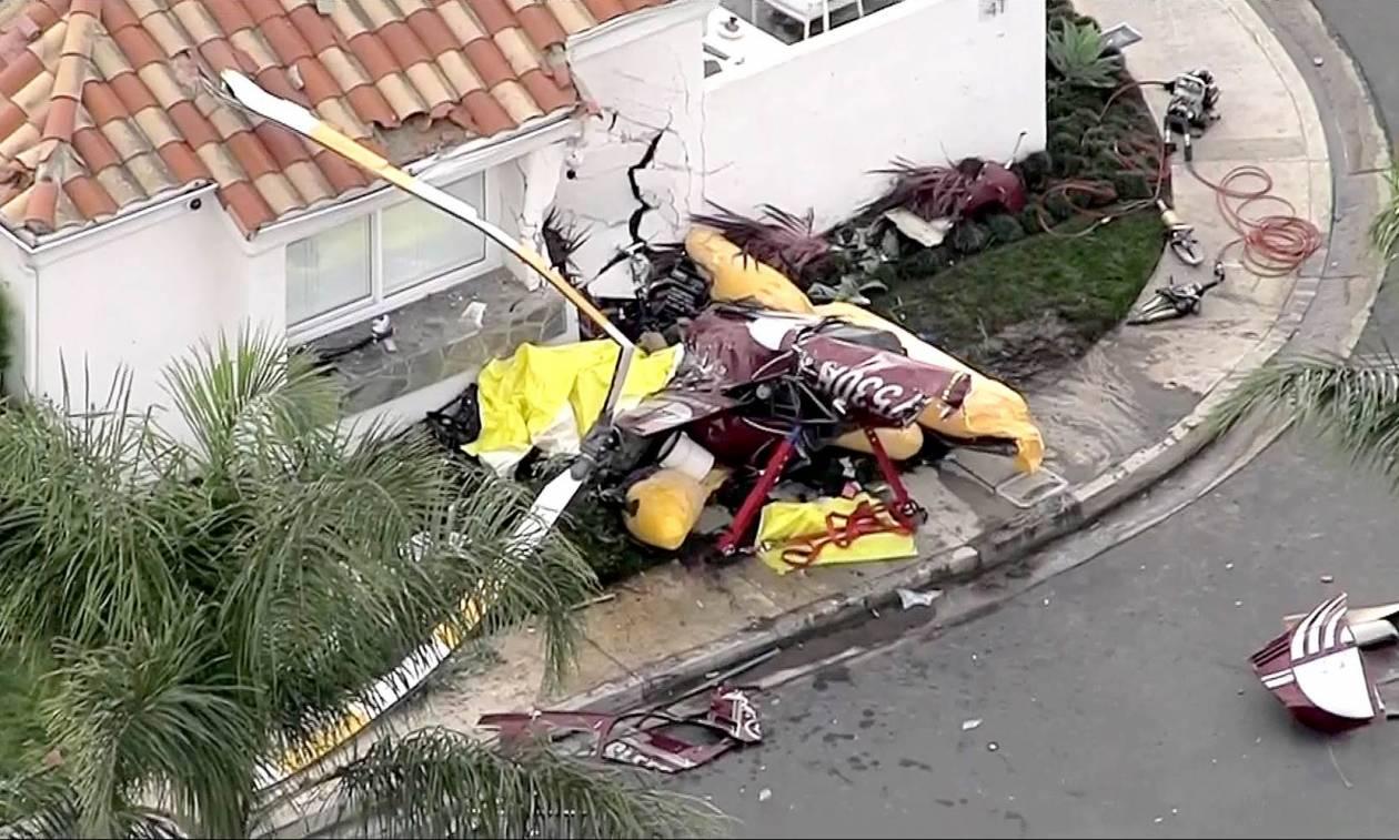 Τραγωδία στις ΗΠΑ: Ελικόπτερο συνετρίβη σε σπίτι – Τουλάχιστον τρεις νεκροί (Pics+Vids)