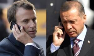 Τελεσίγραφο Mακρόν σε Ερντογάν: Αποχωρήστε τώρα από τη Συρία