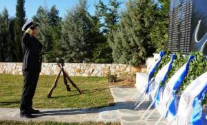 «Αθάνατοι» - Μνημόσυνο για τους τρεις νεκρούς των Ιμίων στη βάση ελικοπτέρων