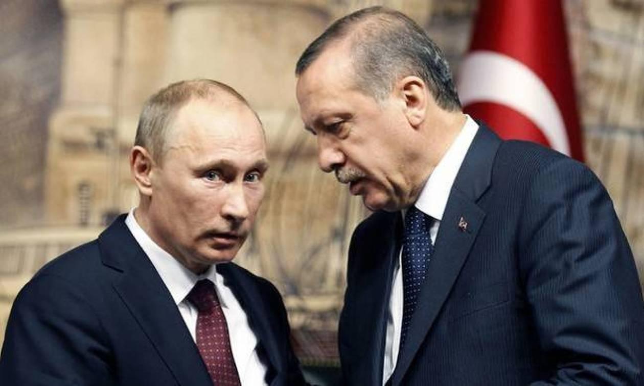 Τηλεφωνική επικοινωνία Πούτιν- Ερντογάν: Τι συζήτησαν οι δύο Πρόεδροι