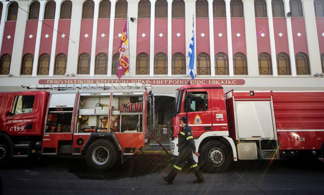 Κατασβέστηκε η πυρκαγιά στο Πνευματικό Κέντρο της Μητρόπολης Νίκαιας (pics)