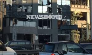 Έκρηξη Κηφισίας: Συγκλονιστικές εικόνες από το «βομβαρδισμένο» κτήριο