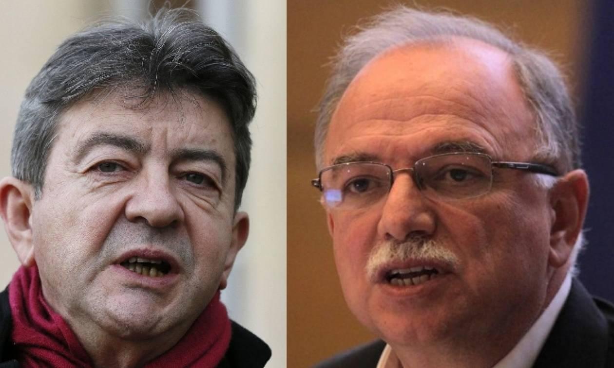Μελανσόν: Να φύγει ο ΣΥΡΙΖΑ από την Ευρωπαϊκή Αριστερά - Τι του απάντησε ο Παπαδημούλης