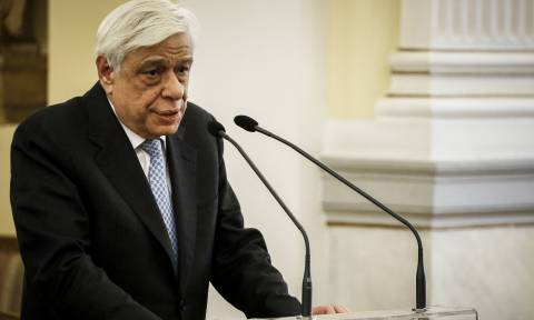 Ηχηρή παρέμβαση Παυλόπουλου: Οι Έλληνες μόνο ενωμένοι μεγαλουργούμε (vid)
