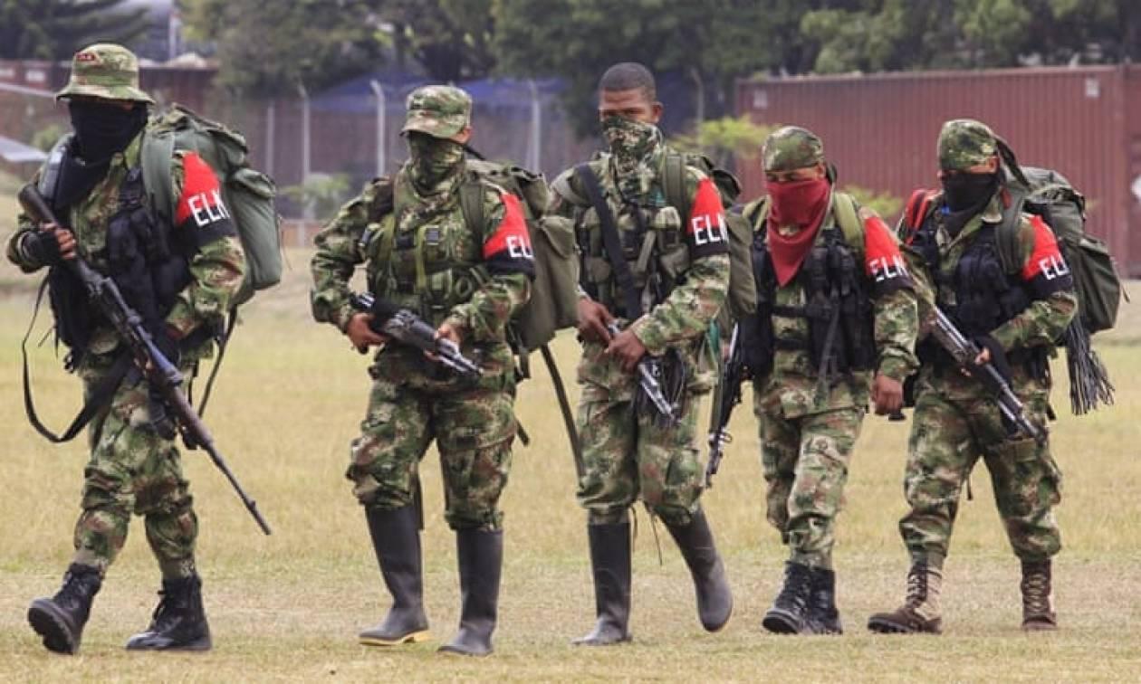 Κολομβία: Τρεις αντάρτες του ELN σκοτώθηκαν από επίθεση που εξαπέλυσε ο στρατός