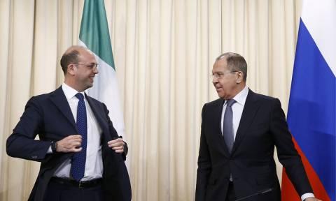 Главы МИД России и Италии подтвердили общие подходы по Сирии, Украине и Ливии