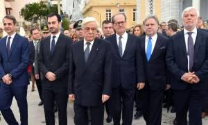 Ηχηρή παρέμβαση Παυλόπουλου: «Υπό όρους διχασμού θρηνήσαμε ακόμα και εθνικό μας κορμό»
