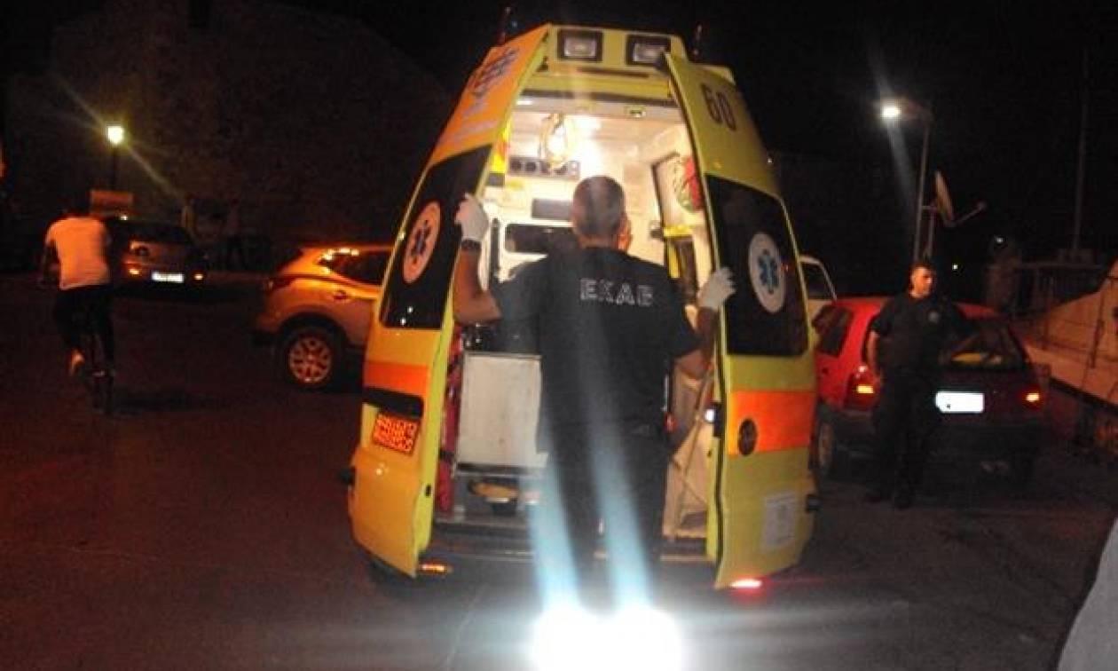 ΣΟΚ στη Χαλκίδα: «Βουτιά» θανάτου για 63χρονο - Κατέληξε στο σταθμευμένο αυτοκίνητό του (pics&vid)