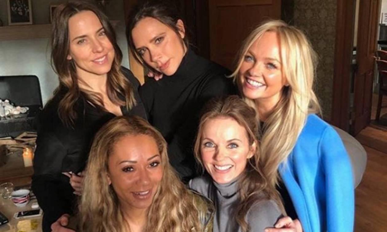Κάποιοι εντόπισαν κοκαΐνη στη φωτογραφία επανένωσης των Spice Girls – Εσείς τι βλέπετε; (Pics)