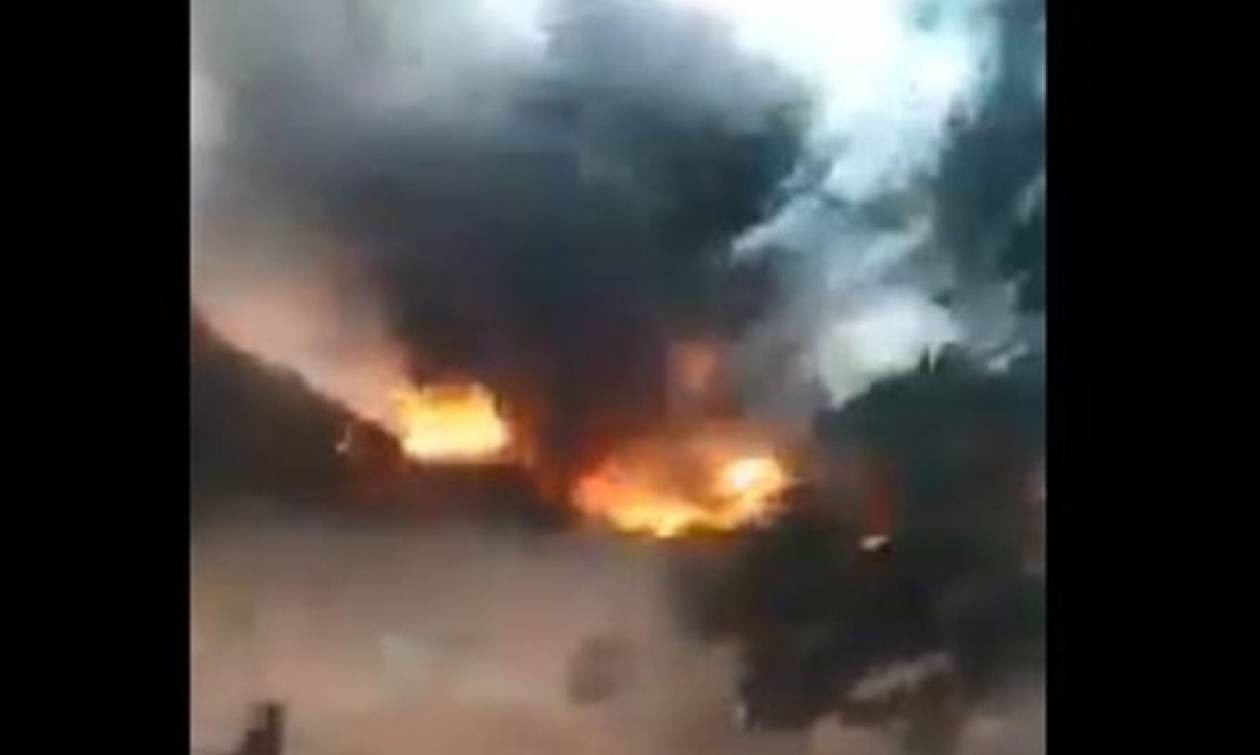 Συρία: Τζιχαντιστές κατέρριψαν ρωσικό μαχητικό - Σκοτώθηκε ο πιλότος – Δείτε συγκλονιστικά βίντεο
