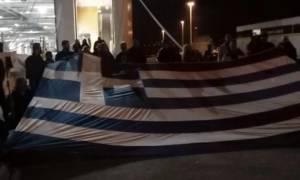 Συλλαλητήριο Αθήνα: Οι Χανιώτες φώναξαν «η Μακεδονία είναι ελληνική»
