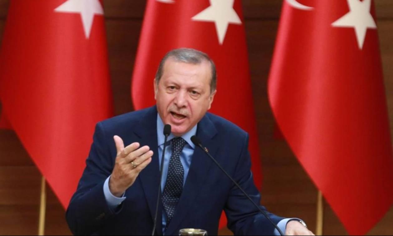 Τα «γυρνάει» τώρα ο Ερντογάν: Η Τουρκία «δεν εποφθαλμιά εδάφη άλλης χώρας»