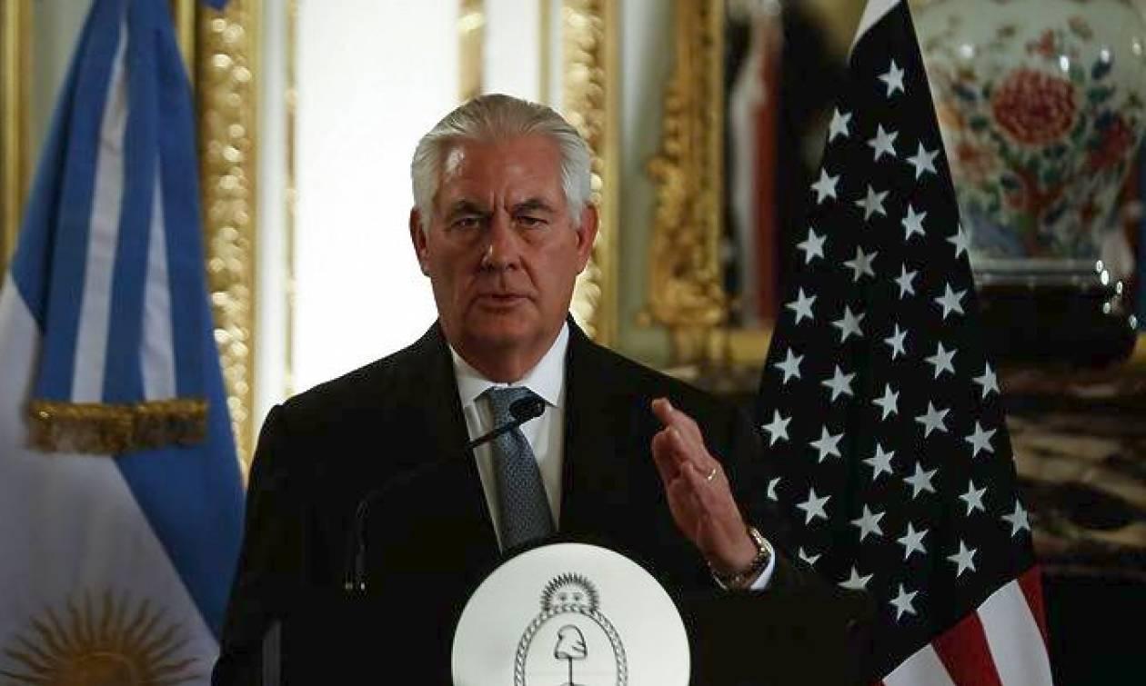 Τίλερσον: Έτοιμες οι ΗΠΑ να επιβάλουν κυρώσεις στις εξαγωγές πετρελαίου της Βενεζουέλας
