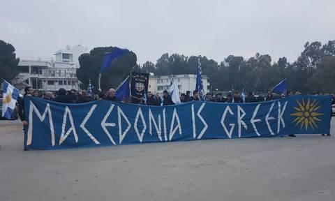 Πορεία φιλάθλων του ΑΠΟΕΛ για τη Μακεδονία - Δείτε το βίντεο που προκαλεί ανατριχίλα