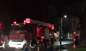 Θεσσαλονίκη: Φωτιά σε διώροφη κατοικία στα Βρασνά