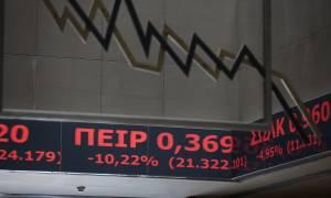 Nευρικότητα στα χρηματιστήρια: Στο «κόκκινο» η Αθήνα, μικρή ανάκαμψη στη Wall Street