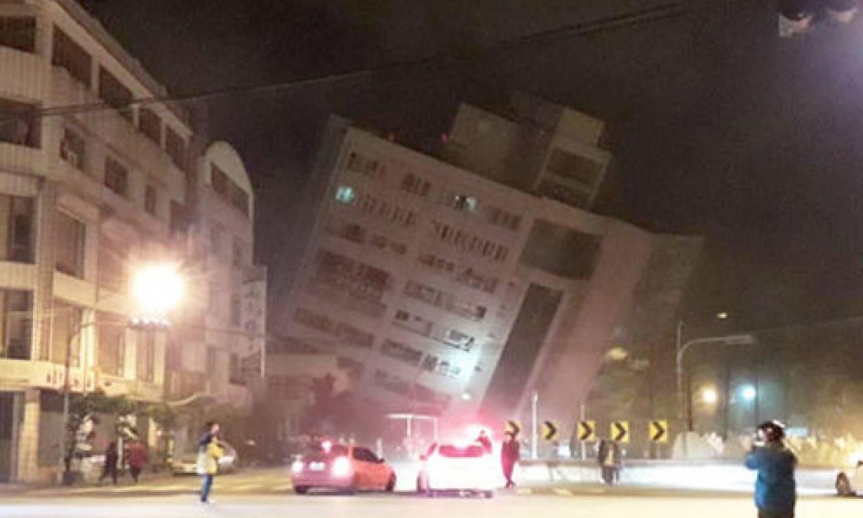 Σεισμός στην Ταϊβάν: Δύο νεκροί και εκατοντάδες τραυματίες από τα φονικά Ρίχτερ