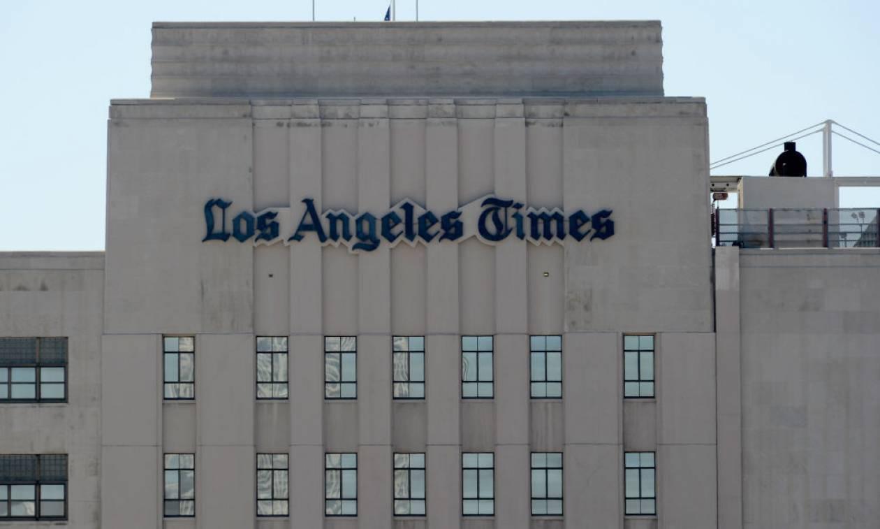 Η εφημερίδα Los Angeles Times αλλάζει χέρια